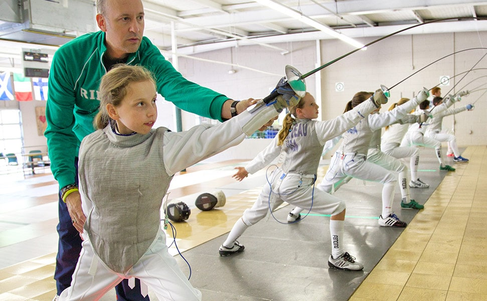 Rhode Island RI Fencer sports for girls and boys in MA