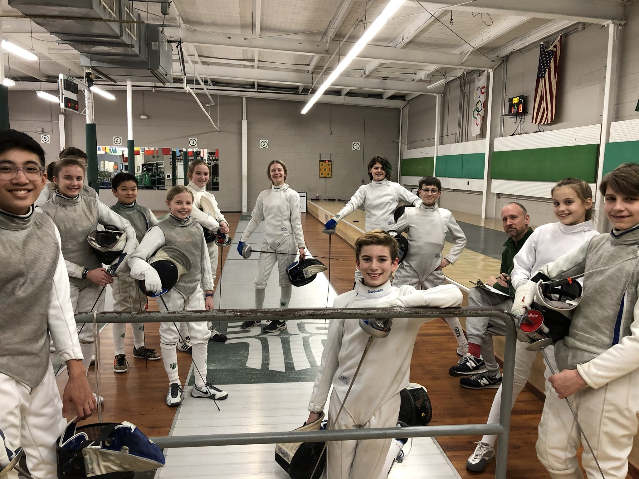 Rhode Island RI Fencing sports for girls and women